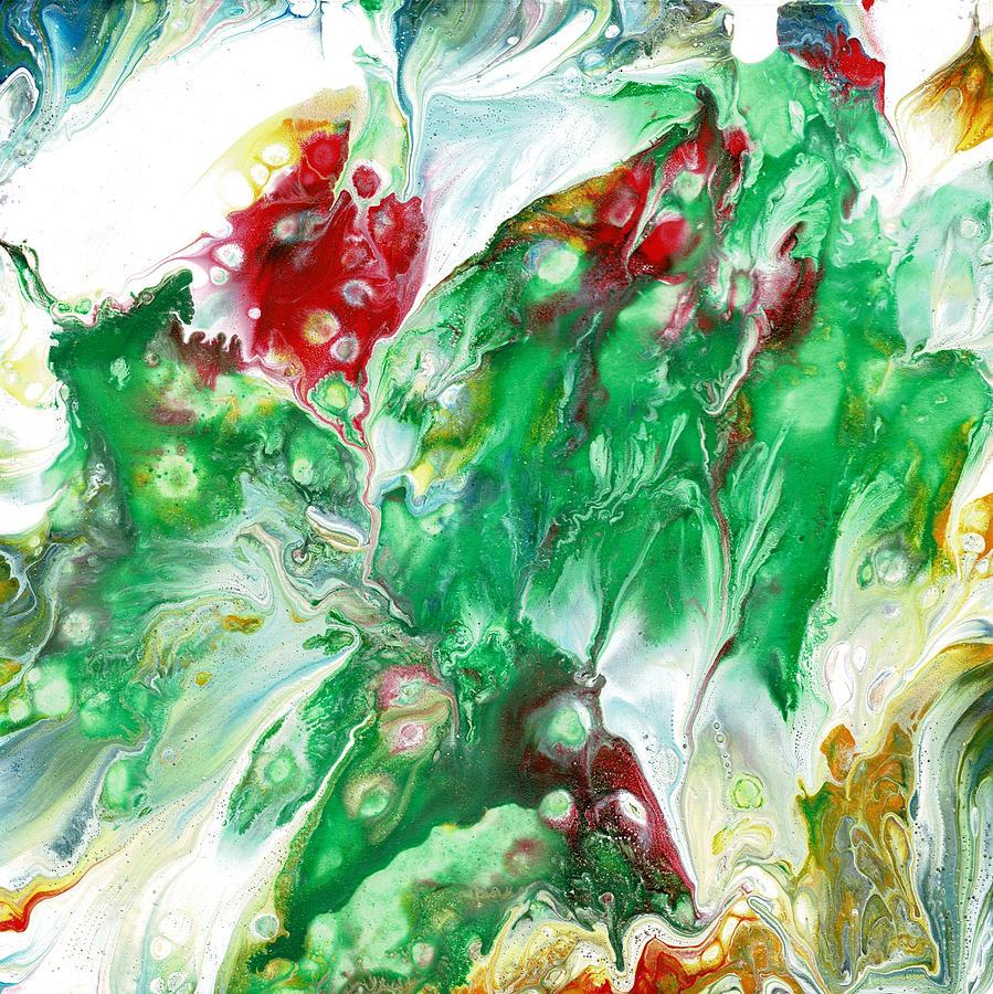 Bright Colors Painting - Fairy Paradise by Cruz Selene Ambrosio