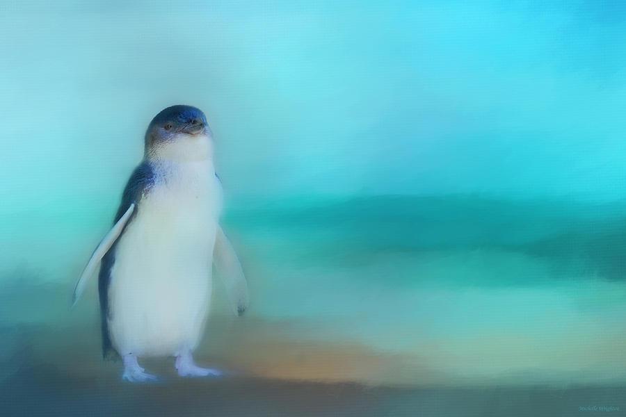 Fairy Penguin Western Australia by Michelle Wrighton