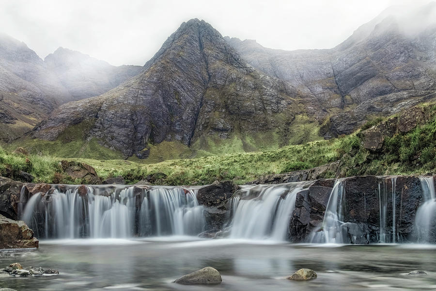 Fairy Pools Photograph - Fairy Pools - Isle Of Skye by Joana Kruse