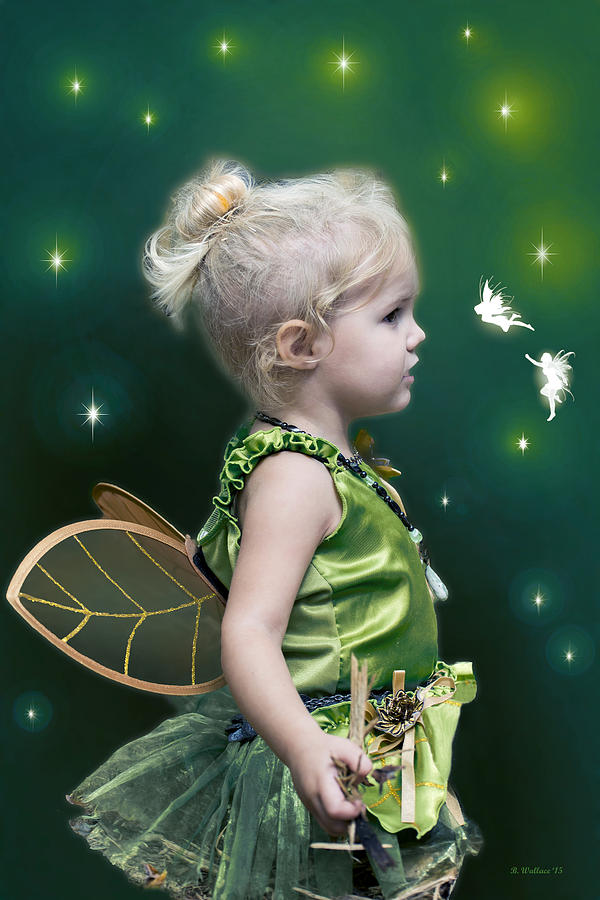2d Photograph - Fairy Princess by Brian Wallace