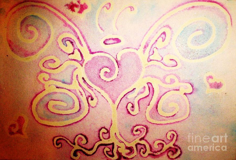 Love Painting - Fairylove by Chandelle Hazen