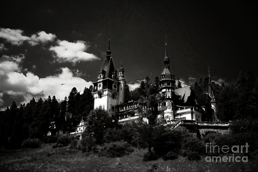 Peles Photograph - Fairytale Castle by Gabriela Insuratelu