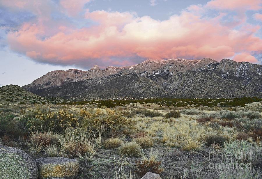 Sandia Mountains Photograph - Fairytale Clouds by Andrea Hazel Ihlefeld