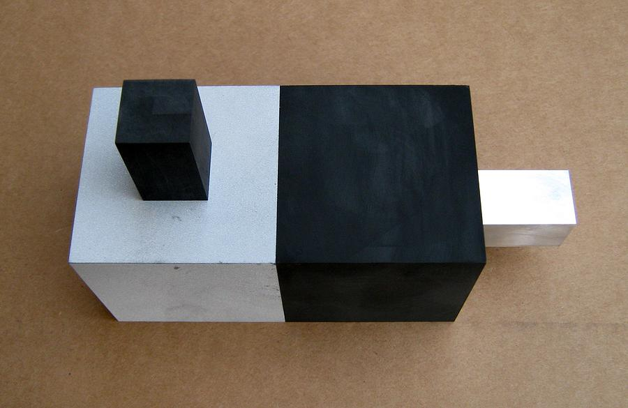 Graphite Sculpture - Faith       Reason by Tony Murray