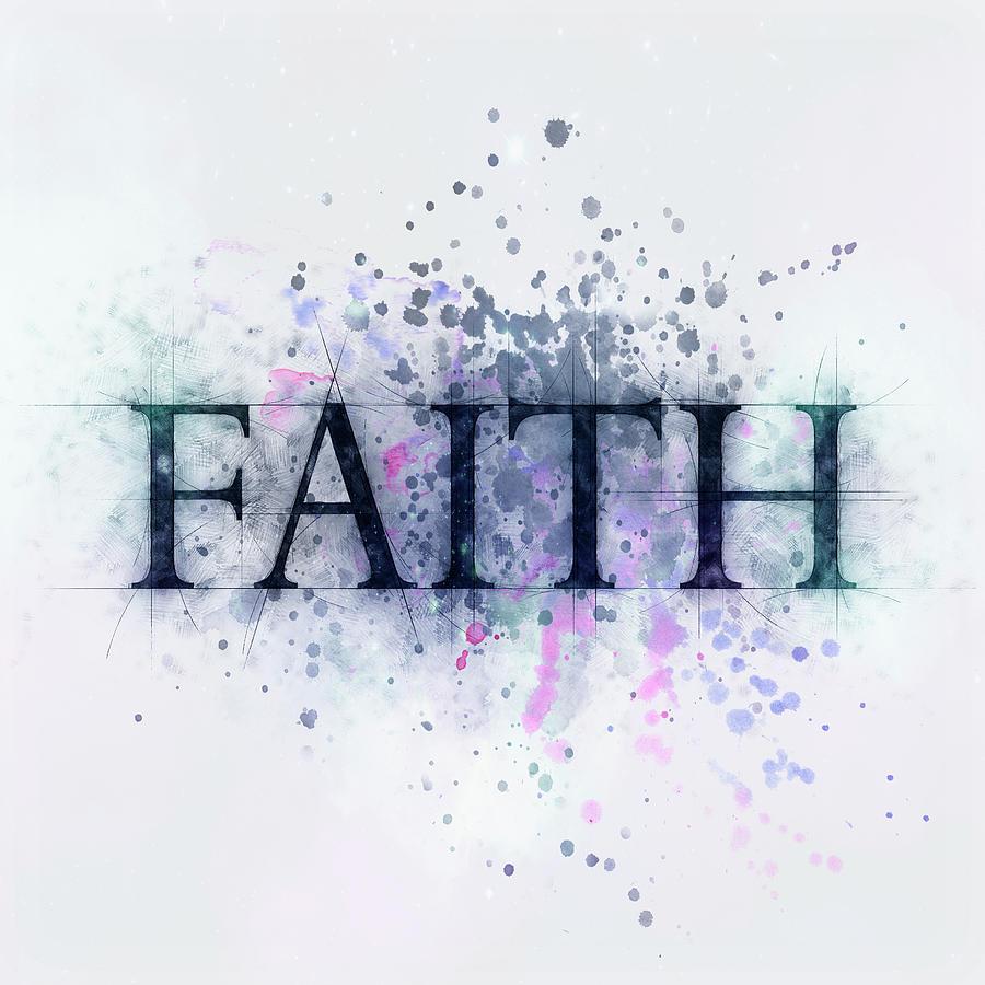 Faith Drawing - Faith by Christina VanGinkel