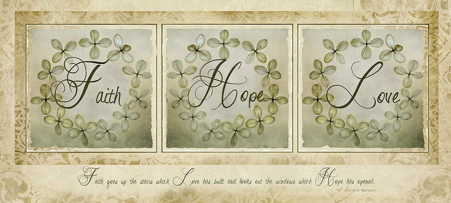 Faith Hope Love by Robin-Lee Vieira