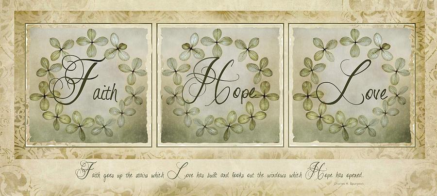 Faith Hope Love by Robin-Lee Vieira