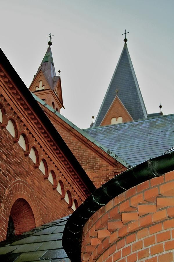 Geometry Photograph - Faith In Geometry by Odd Jeppesen