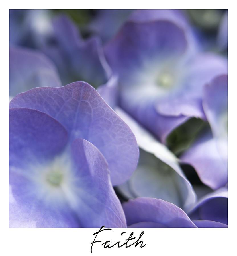 Arrangement Photograph - Faith by Janet Fikar