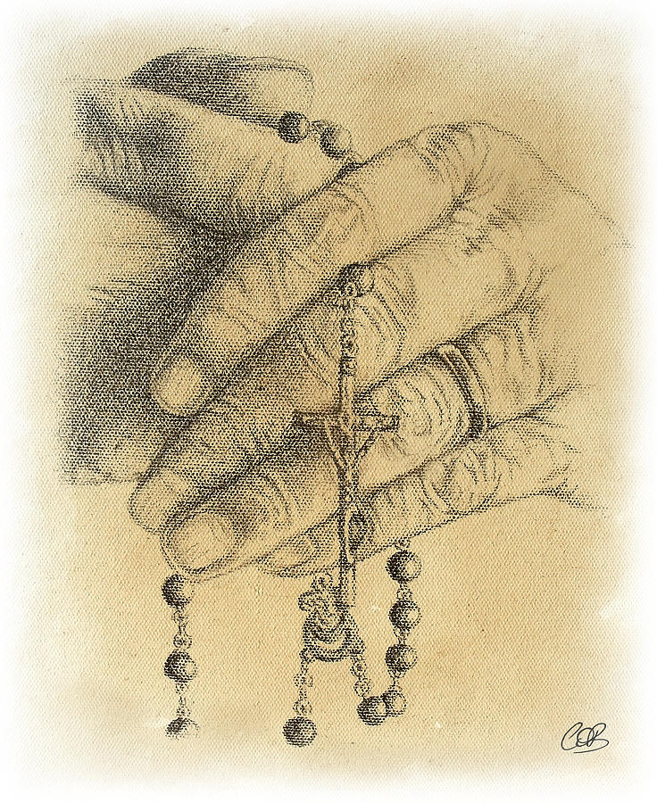 Religion Drawing - Faith Never Grows Old by Conor OBrien