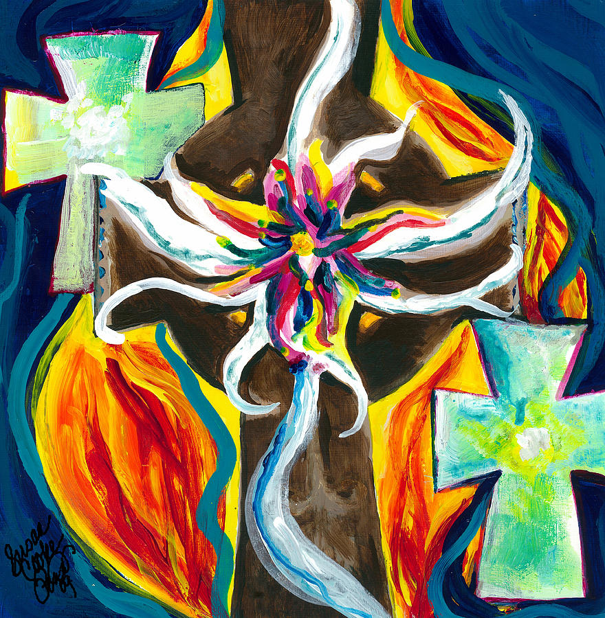 Faith Painting - Faith by Susan Cooke Pena