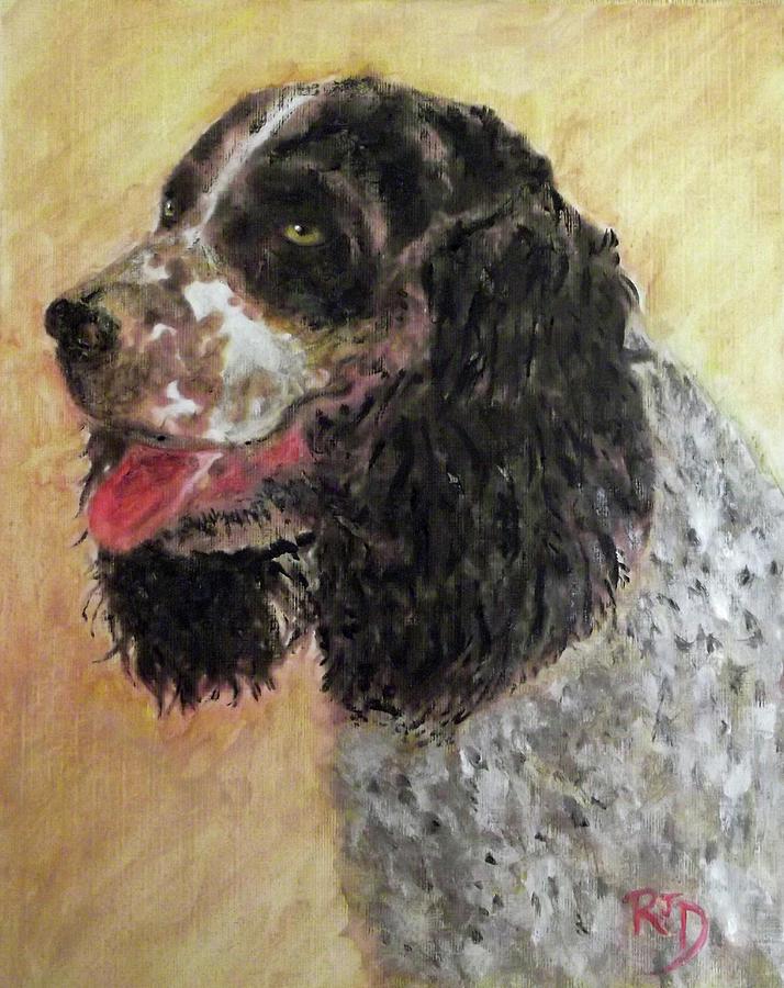 Faithful Spaniel Painting