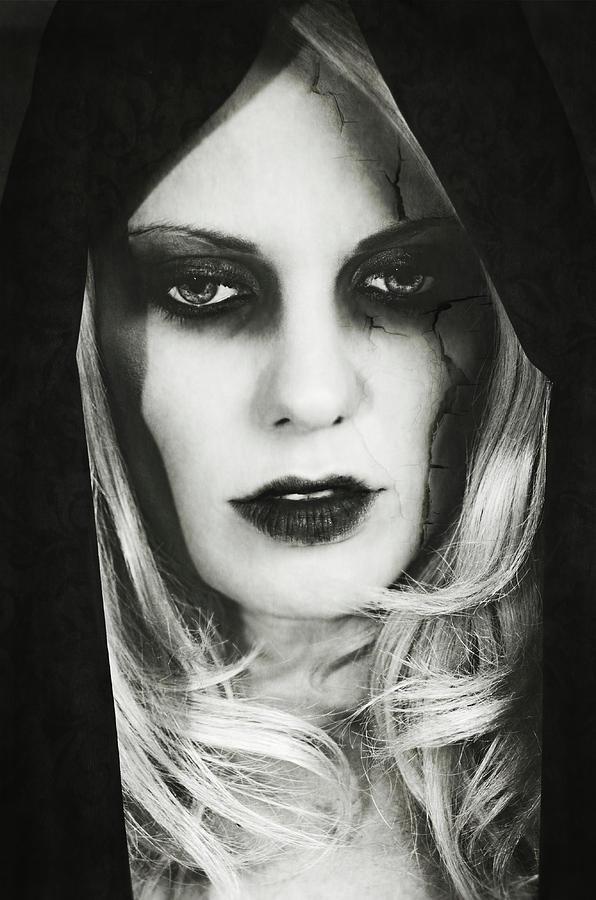 Dark Photograph - Fake Beauty by Sotiris Filippou