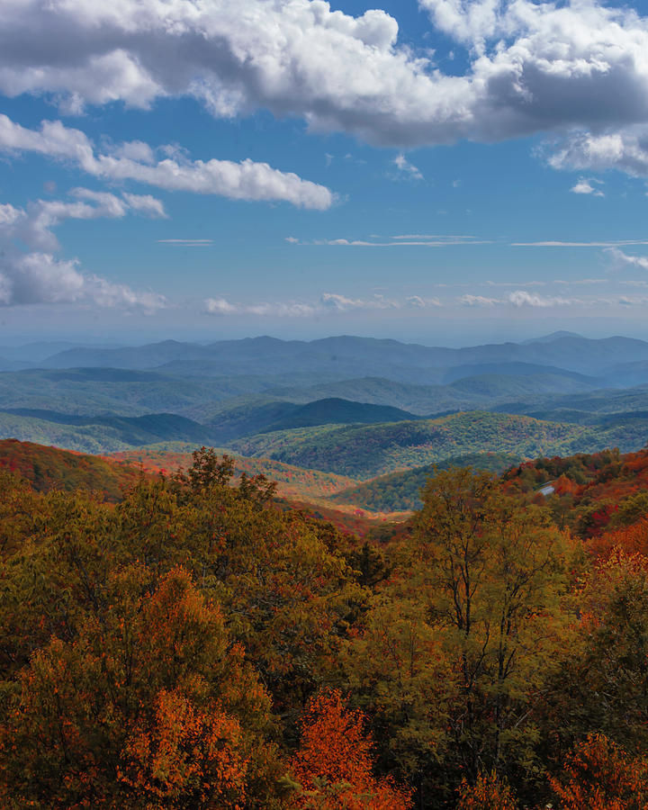 Fall Along the Blue Ridges by Printed Pixels