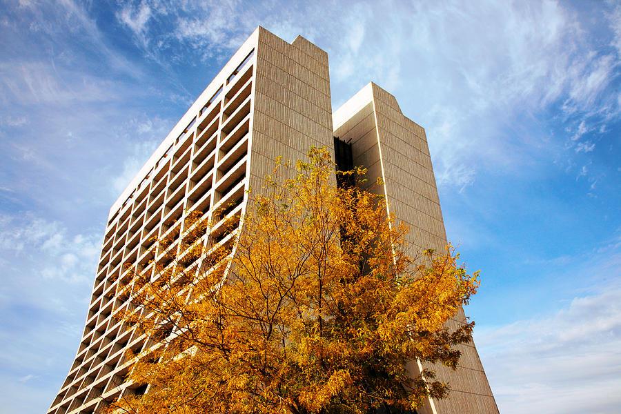Fall at Fermi by Bruce Richardson