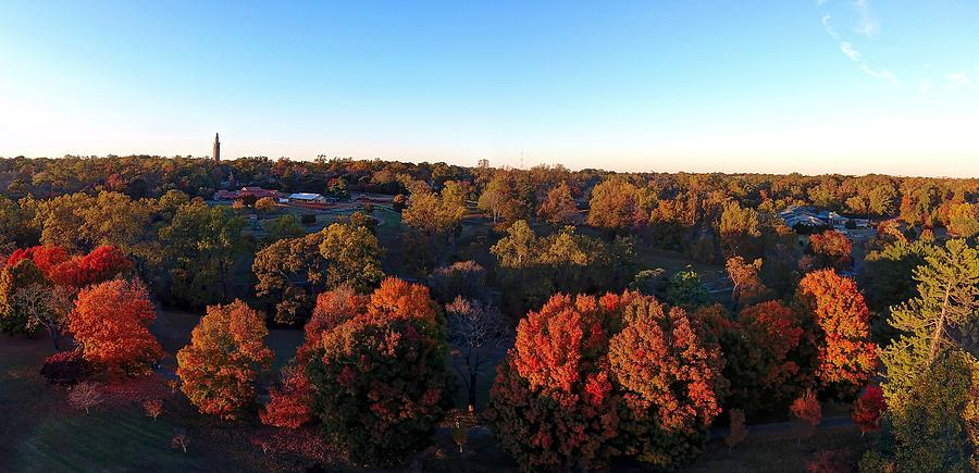 Maymont Park Photograph - Fall at Maymont Park 2016 by Tredegar DroneWorks
