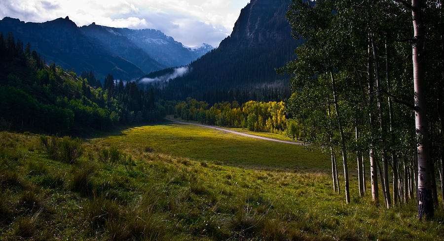 Mountains Photograph - Fall begins by Mike  Bennett