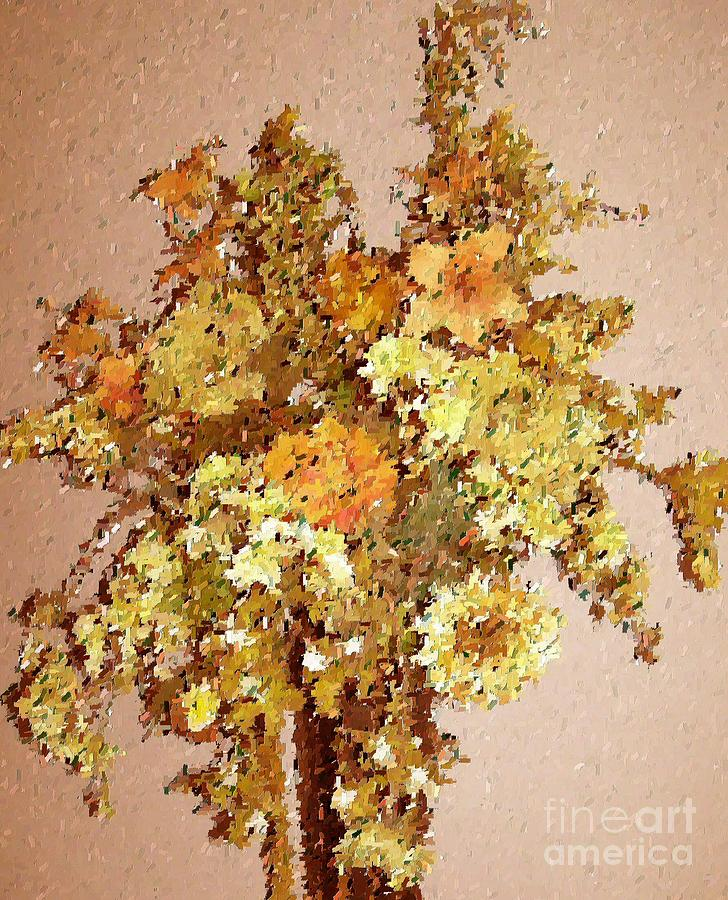Floral Print - Fall Bouquet by Don Phillips