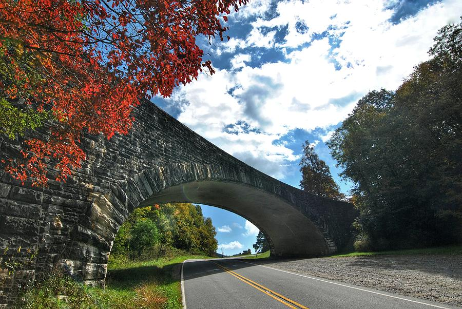 Fall Bridge by Doug Ash