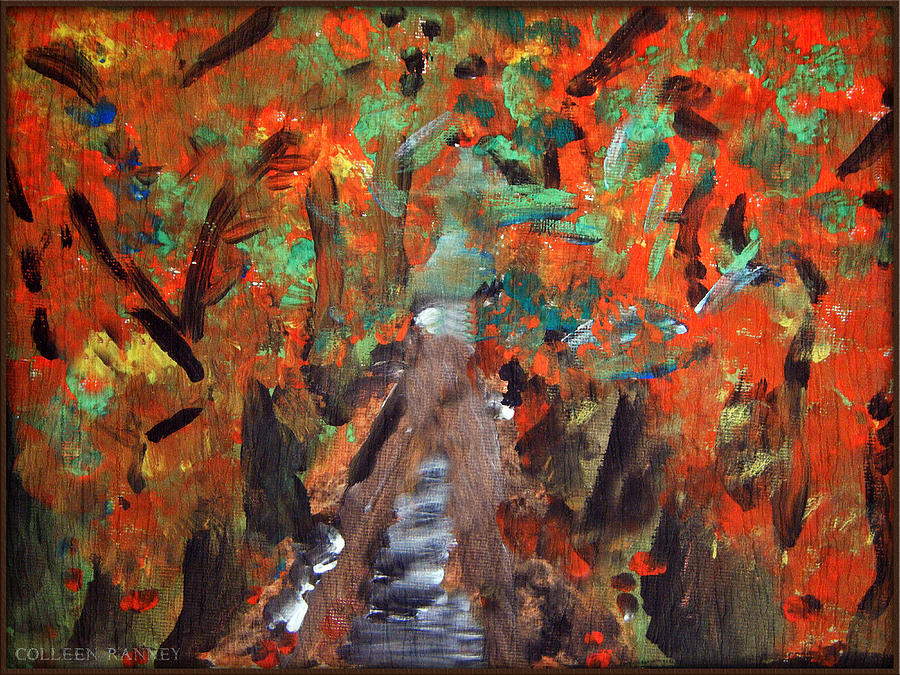 Seasons Painting - Fall by Colleen Ranney by Colleen Ranney