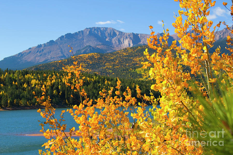 Fall Colors And Crystal Reservoir Photograph