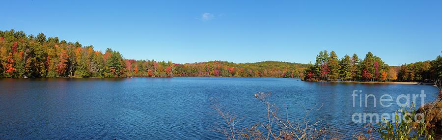 Fall Colors Around Burr Pond State Park Torrington Connecticut Photograph
