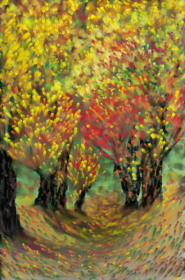 Landscape Painting - Fall Impression by Harry Dusenberg