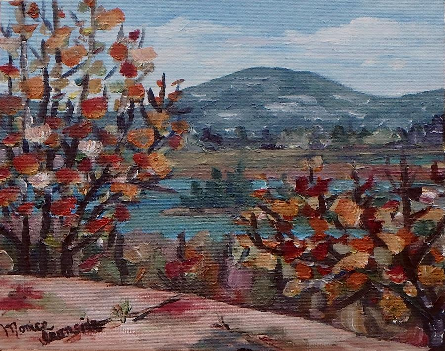 Original Painting - Fall In Killarney by Monica Ironside