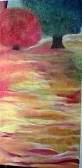 Landscape Painting - Fall In Maine by Bobbi Ferrelli