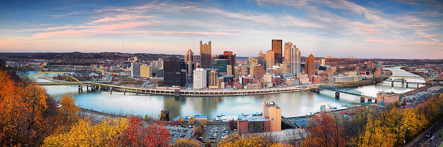 Steelers  Photograph - Fall In Pittsburgh  by Emmanuel Panagiotakis