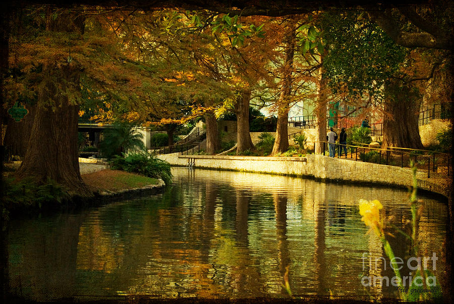 Landscape Photograph - Fall In San Antonio by Iris Greenwell