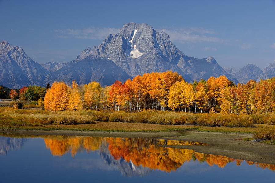 Wyoming Photograph - Fall In The Tetons by Eric Foltz