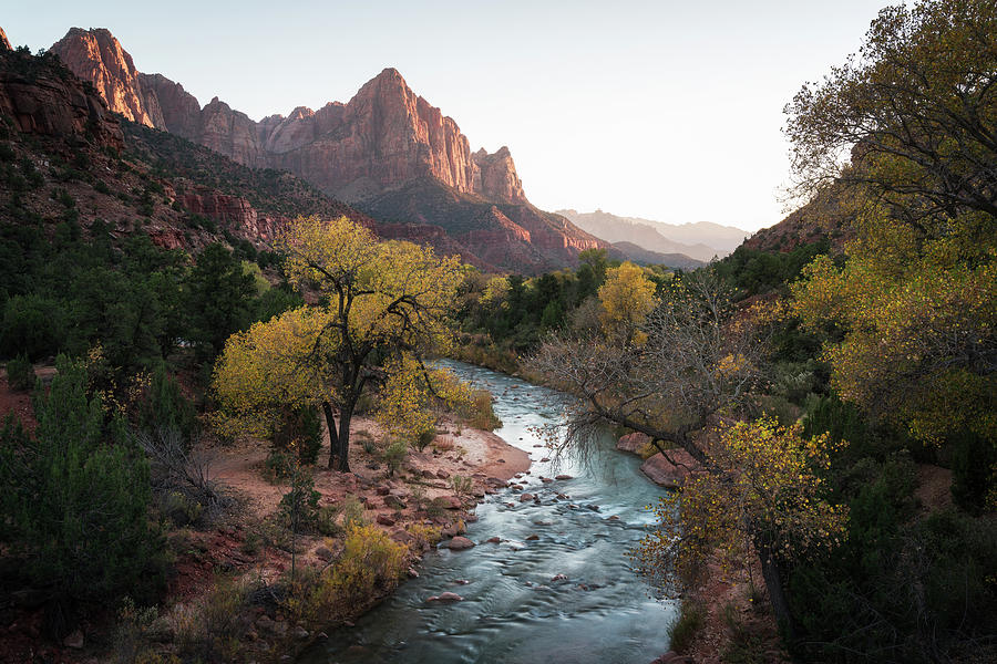 Fall in Zion National Park by James Udall