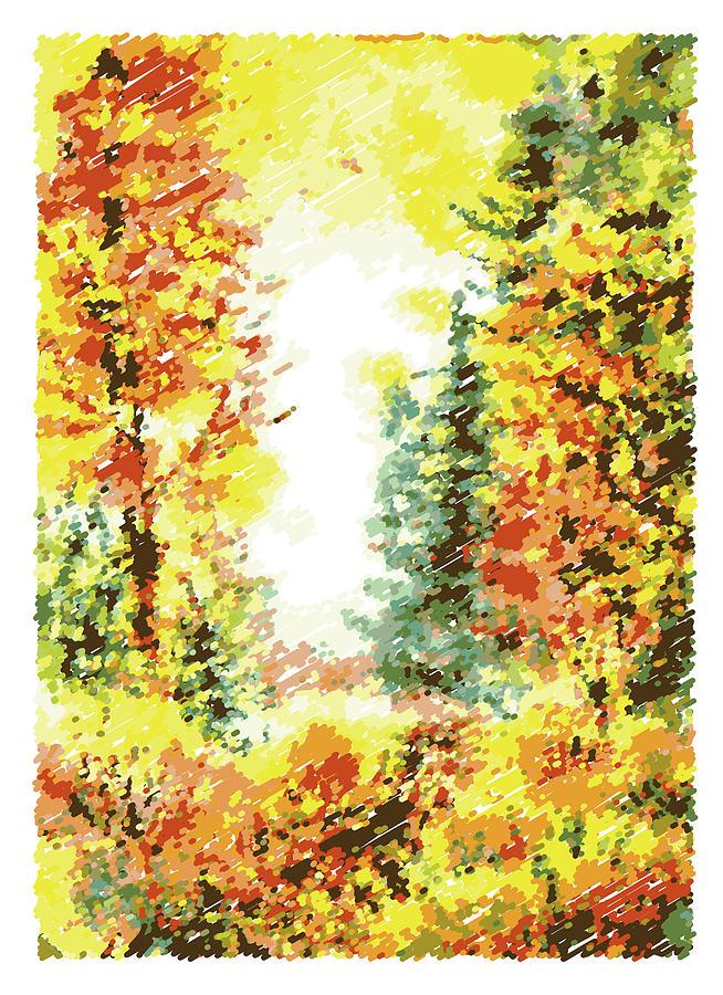 Fall Digital Art - Fall by Irina Sztukowski