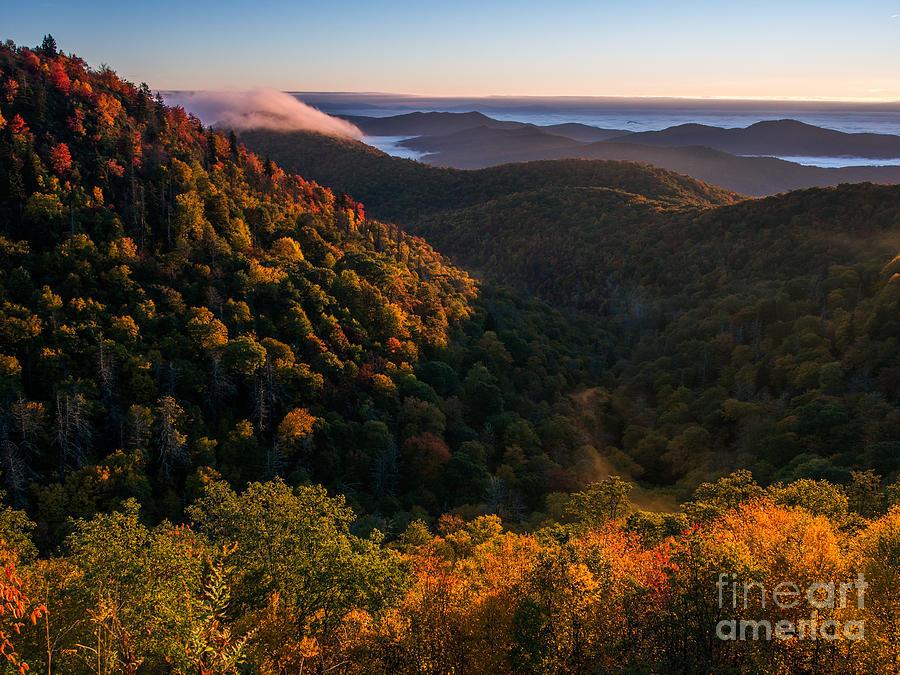 Blue Ridge Parkway Photograph - Fall. by Itai Minovitz