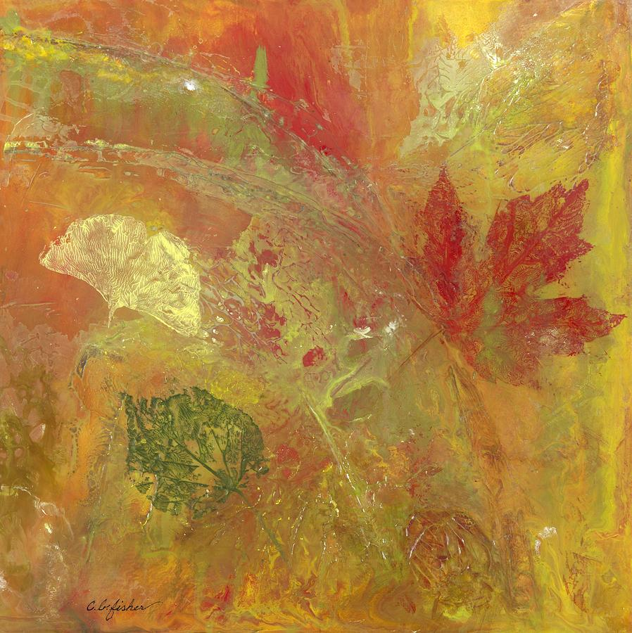 Leaves Painting - Fall Leaves by Constance Fisher