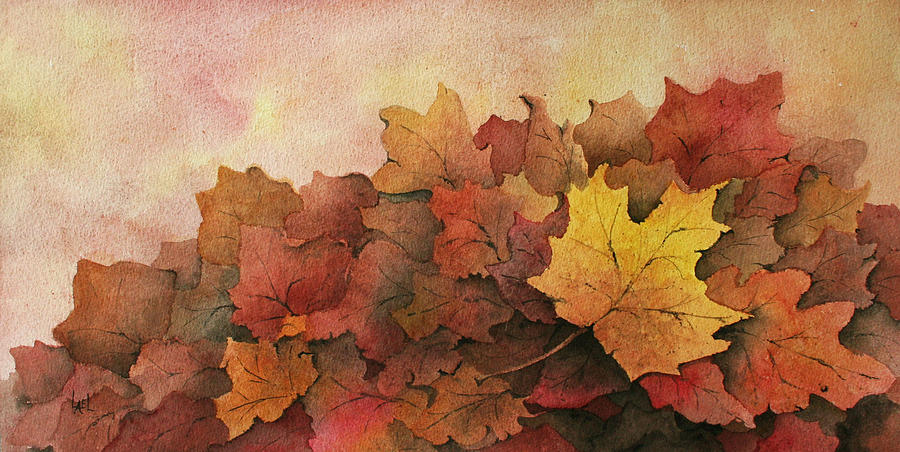 Fall Leaves by Lael Rutherford
