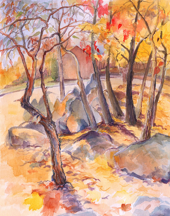 Fall light 2 by Nancy Watson