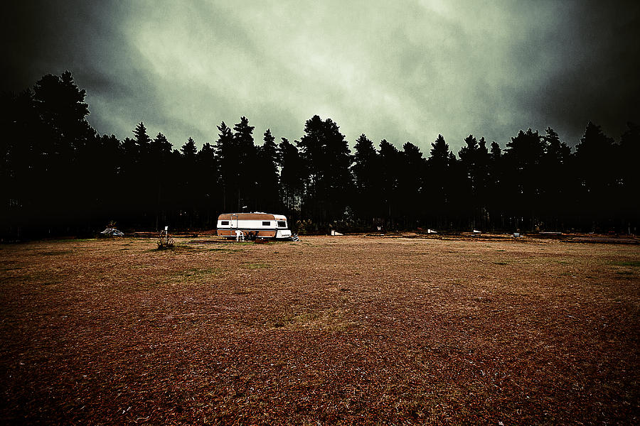 Caravan Photograph - Fall by Mounir Rabhi Hallner