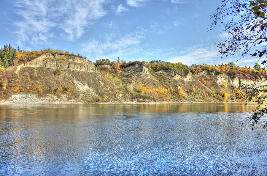 Fall on the River by Jim Sauchyn