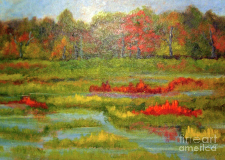 Fall on the Wetland by Marcia Hero