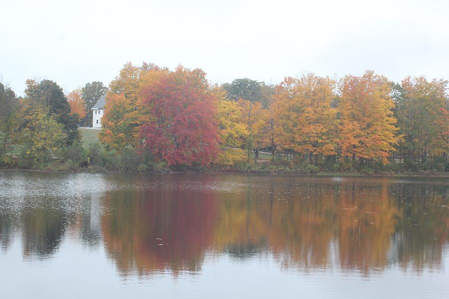 Fall Photograph - Fall Reflections by Don Pettengill