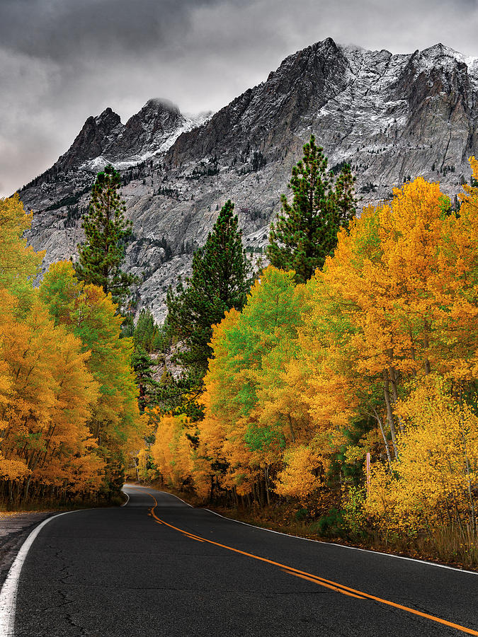 Fall Sierra Pass by Steven Maxx