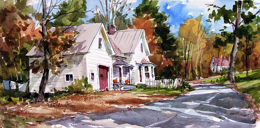 Fall Foliage Painting - Fall Splendor by Tony Van Hasselt