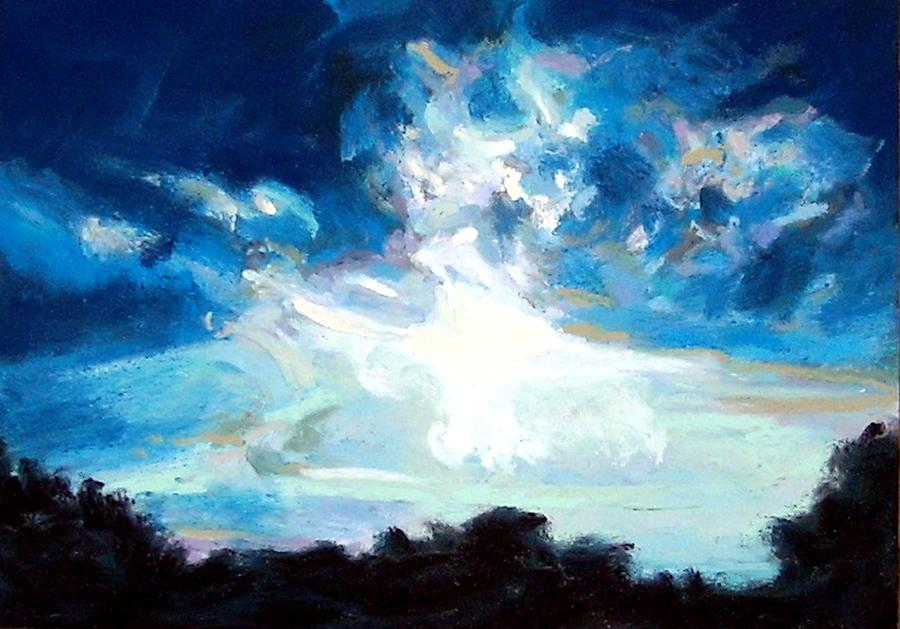 Pastel Painting - Fall Storm by Cameron Hampton PSA