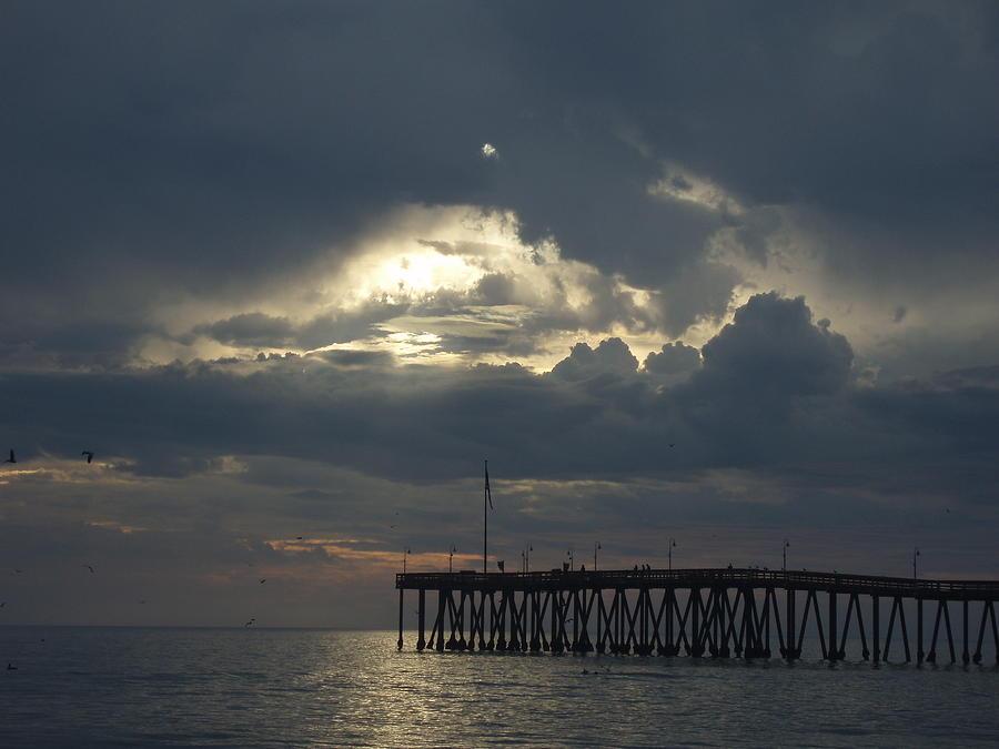 Fall Sunset Photograph by Liz Vernand