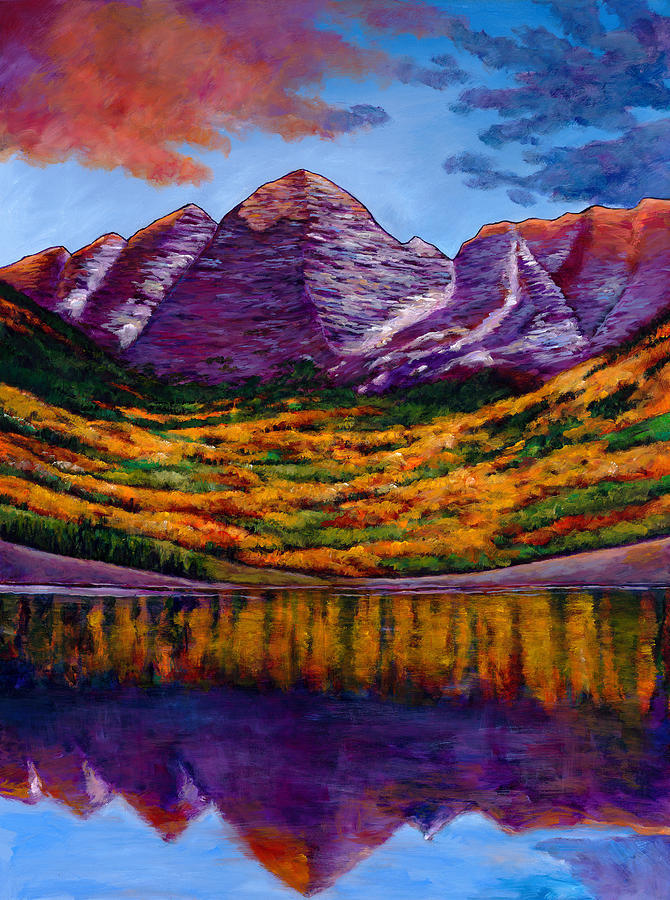 Landscapes Painting - Fall Symphony by Johnathan Harris