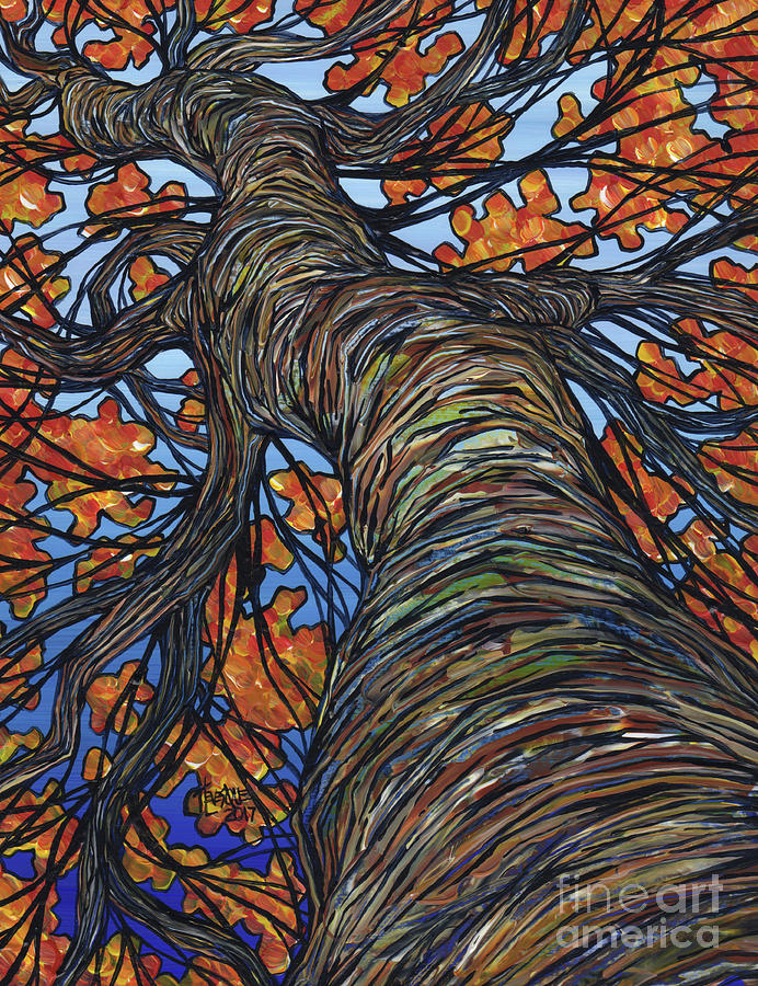 Fall Tree by Tracy Levesque