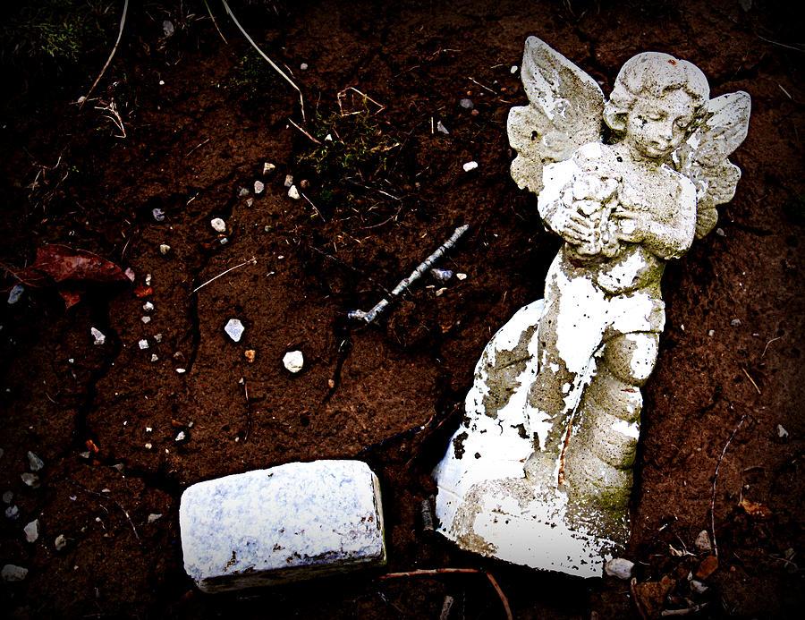 Angel Photograph - Fallen Angel by Susie Weaver