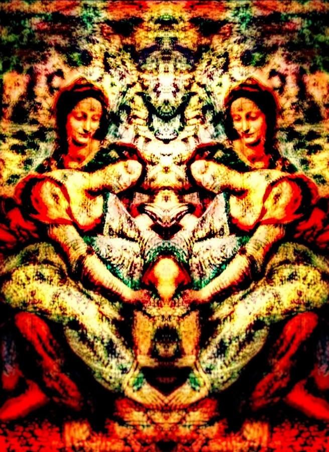 Fallen Angels 1503 Davinci Relief by Ramon Jamison